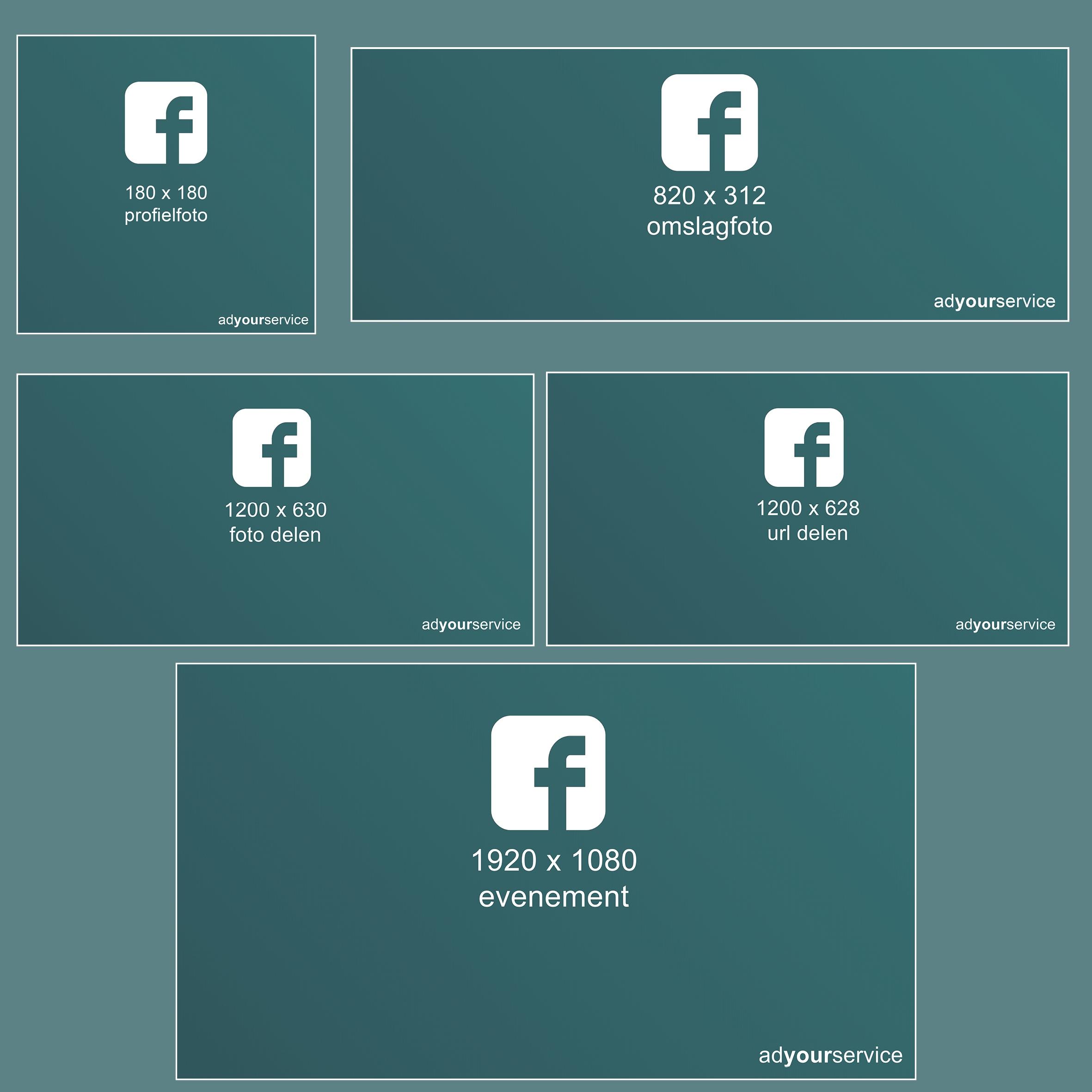 facebook afmetingen afbeeldingen