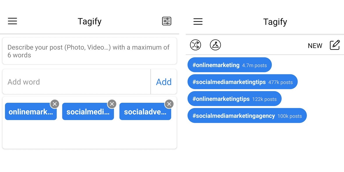 hashtags zoeken instagram tool tagify